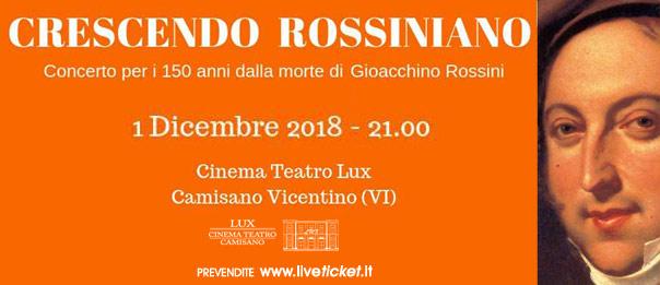 Crescendo rossiniano - Ensemble Neuma al Teatro Lux di Camisano Vicentino