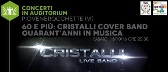 Cristalli live all'Auditorium Comunale di Piovene Rocchette