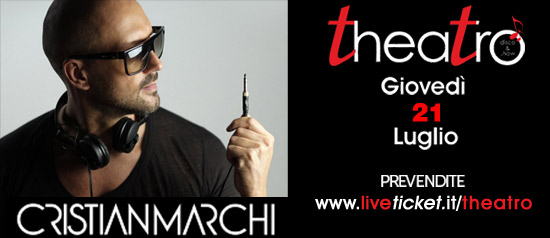 Cristian Marchi live al Teatro On. Nino Croce a Valderice