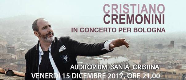 Cristiano Cremonini all'Auditorium Santa Cristina a Bologna