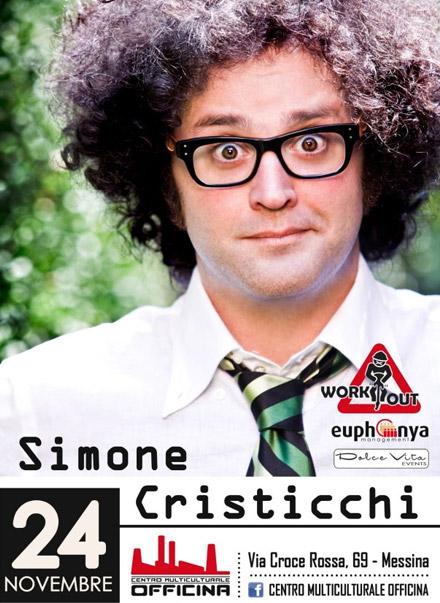 Simone Cristicchi al Centro Multiculturale Officina di Messina