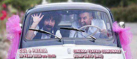 Cul e Pataia al Cinema Teatro Comunale di Bomporto