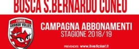 Cuneo Granda Volley - Campionato serie A1 stagione 2018/2019