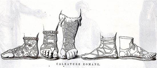 Lezione di antica calzatura e accessori romani ad Osimo