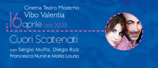 """""""Cuori scatenati"""" al Teatro Moderno di Vibo Valentia"""