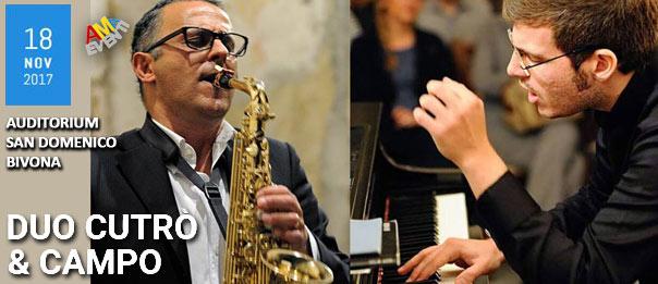 Duo Cutrò & Campo all'Auditorium San Domenico a Bivona