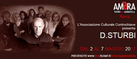 D.sturbi al Teatro Ambra alla Garbatella di Roma