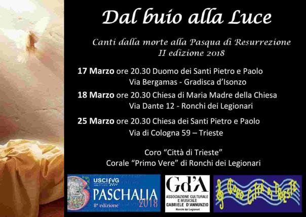 Dal buio alla Luce alla Chiesa dei Santi Pietro e Paolo a Trieste