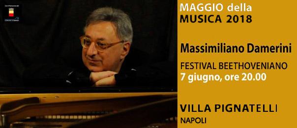 Massimiliano Damerini a Villa Pignatelli a Napoli