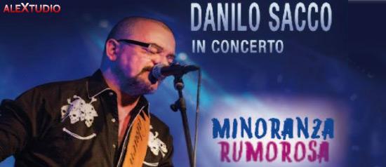 Danilo Sacco in concerto al Palalido di Valdagno