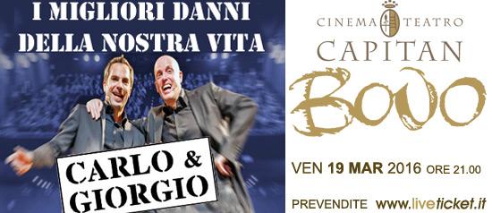 """""""I migliori danni della nostra vita"""" al Cinema Teatro Capitan Bovo di Isola della Scala"""