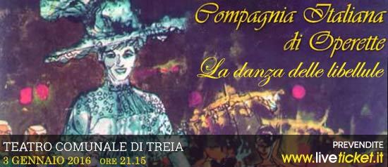 """Compagnia delle Operette """"La danza delle libellule"""" al Teatro Comunale di Treia"""