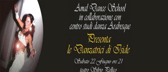 """""""Le danzatrici di Iside"""" al Teatro Silvio Pellico di Trecate"""