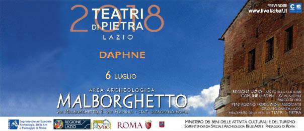 Daphne all'Area Archeologica Malborghetto a Roma