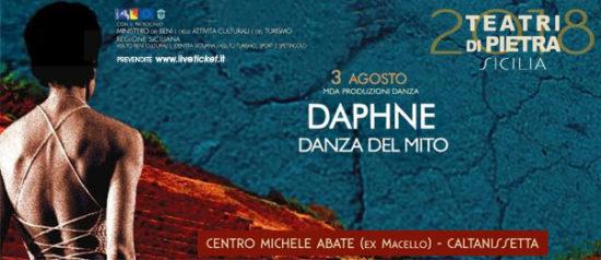 Daphne al Centro Polivalente Michele Abbate a Caltanissetta