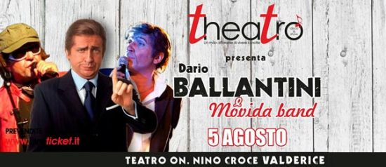 Dario Ballantini e Movida Band Disco e Show