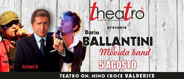 Dario Ballantini e Movida Band Disco e Show