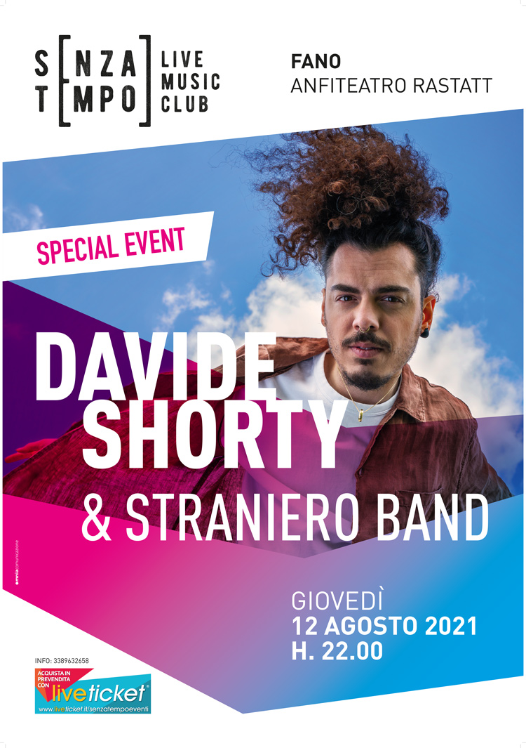 Davide Shorty e Straniero Band - SENZA TEMPO EVENTI a Fano