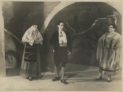 Debutto Mario del Monaco al Teatro Comunale di Cagli