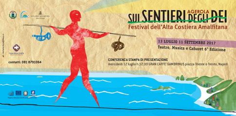 """""""Sui Sentieri degli Dei, festival dell'alta costiera amalfitana"""" ad Agerola"""