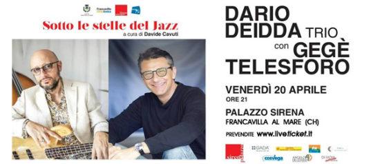 Dario Deidda Trio with Gegè Telesforo al Palazzo Sirena a Francavilla al Mare