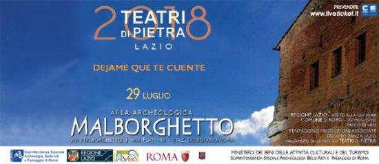 Dejame que te cuente: Identidad all'Area Archeologica Malborghetto a Roma