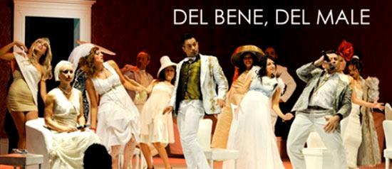 """Stefano Cenci in """"Del Bene, Del Male"""" al Teatro del Mare di Riccione"""