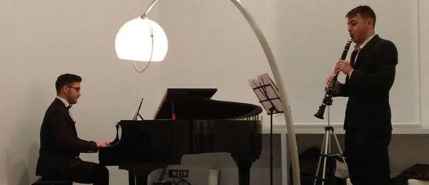 Concerto musica da camera Del Deo e Cocule al Palazzo Venezia a Napoli