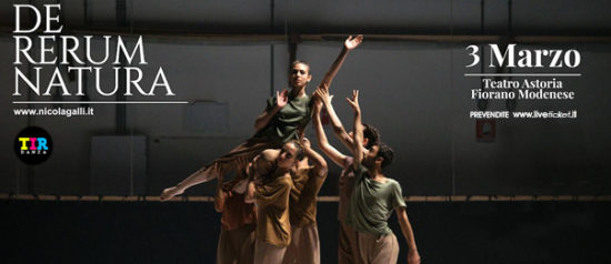 De Rerum Natura al Teatro Astoria di Fiorano Modenese