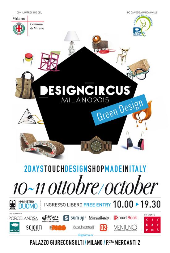 DesignCircus a Piazza Mercanti a Milano