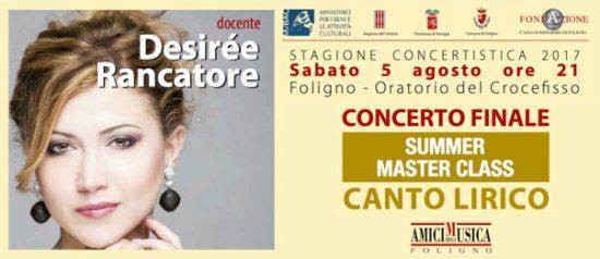 Summer Masterclass - Concerto finale canto lirico all'Oratorio del Crocefisso a Foligno