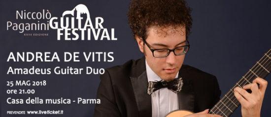 Andrea De Vitis - Amadeus Guitar Duo alla Casa della Musica a Parma