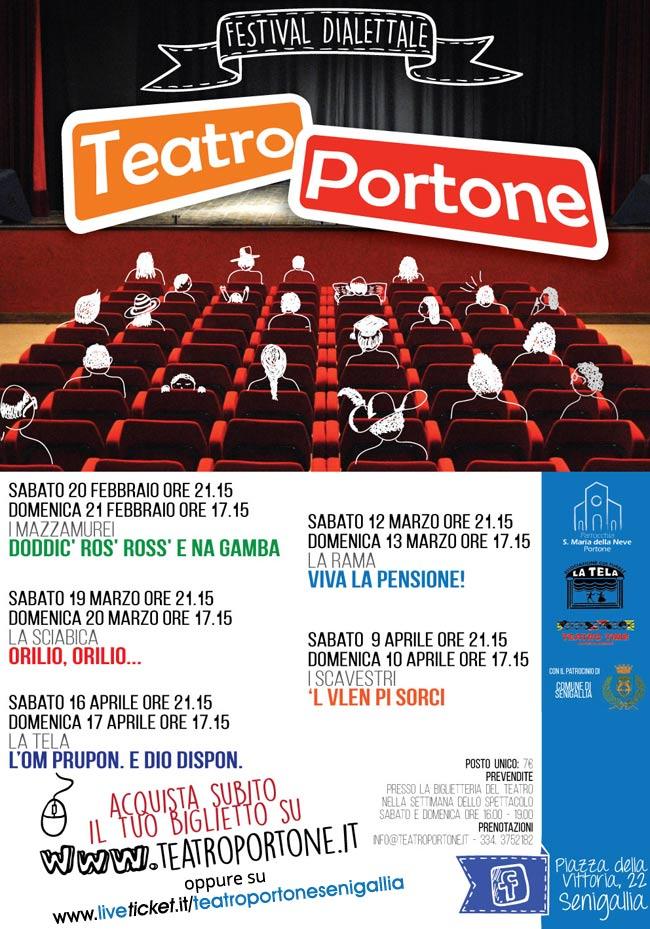 Festival dialettale al Teatro Portone di Senigallia
