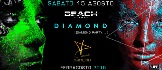 Diamond Party al Beach Club Versilia