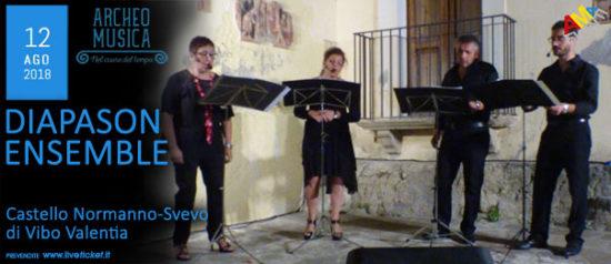 Diapason Ensemble al Castello Normanno - Svevo di Vibo Valentia