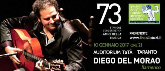 Diego Del Morao al Teatro TaTà di Taranto