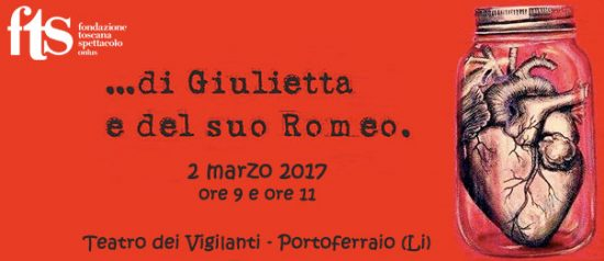 ...di Giulietta e del suo Romeo. al Teatro dei Vigilanti Renato Cioni a Portoferraio