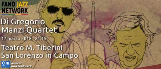 Di Gregorio / Manzi Quartet al Teatro Tiberini di San Lorenzo in Campo