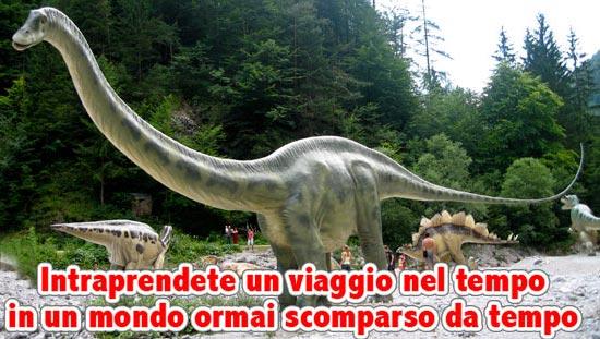 "World of Dinosaurs al Parco di Posatora ""Eraclio Fiorani"" ad Ancona"