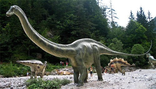 World of Dinosaurs a Chianciano Terme