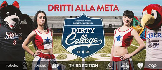 Dirty College al Modigliani Forum di Livorno