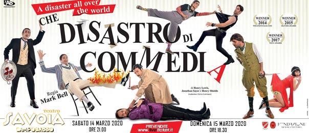 Che disastro di commedia al Teatro Savoia di Campobasso