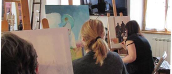Corso disegno e pittura 2016-2017 a Roma