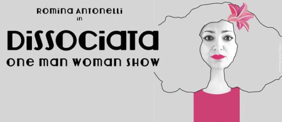 """Romina Antonelli """"Dissociata.One man woman show"""" alla Galleria Centofiorini a Civitanova Marche Alta"""