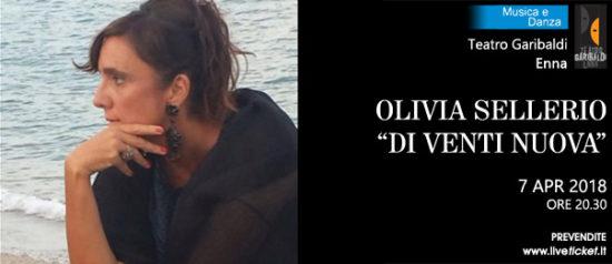 """Olivia Sellerio """"Di venti nuova"""" al Teatro Garibaldi di Enna"""