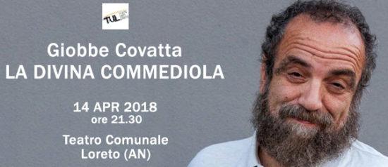 """Giobbe Covatta """"La Divina Commediola"""" al Teatro Comunale di Loreto"""