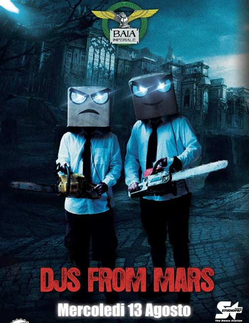 DJS from Mars @ Baia Imperiale a Gabicce