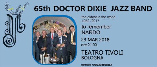 Dr. Dixie jazz band in concert al Teatro Tivoli di Bologna