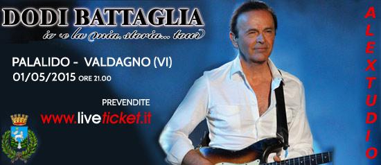 """Dodi Battaglia """"Io e la mia storia tour"""" al PalaLido di Valdagno"""