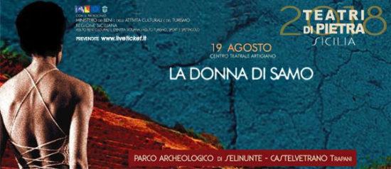 La Donna di Samo al Parco Archeologico di Selinunte a Castelvetrano
